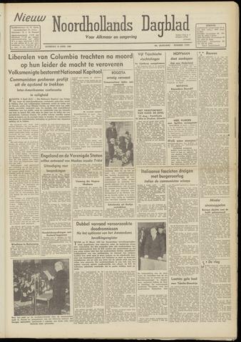 Nieuw Noordhollandsch Dagblad : voor Alkmaar en omgeving 1948-04-10
