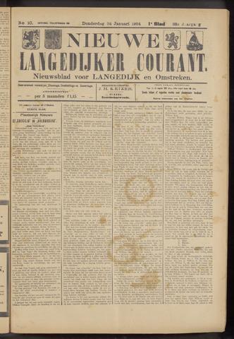 Nieuwe Langedijker Courant 1924-01-24