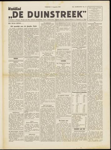 De Duinstreek 1949-08-05