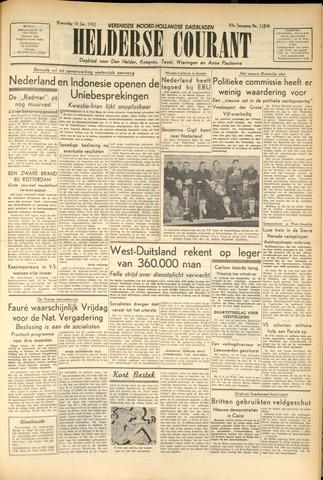 Heldersche Courant 1952-01-16