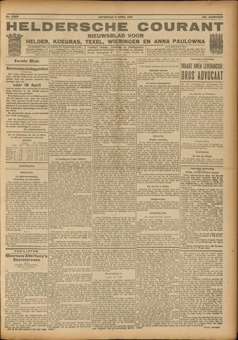 Heldersche Courant 1921-04-09