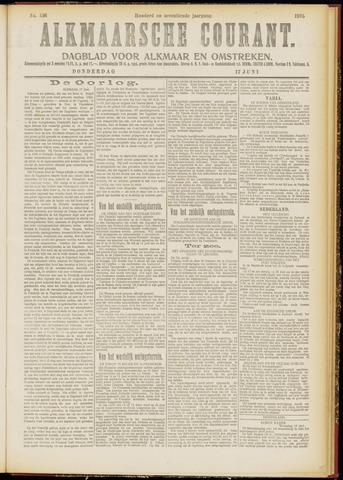 Alkmaarsche Courant 1915-06-17