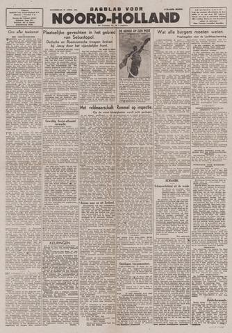 Dagblad Noord-Holland, Schager editie 1944-04-27