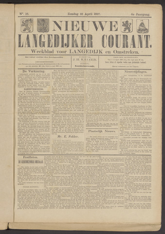 Nieuwe Langedijker Courant 1897-04-18