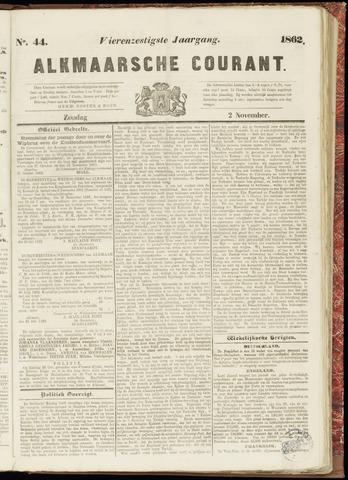 Alkmaarsche Courant 1862-11-02