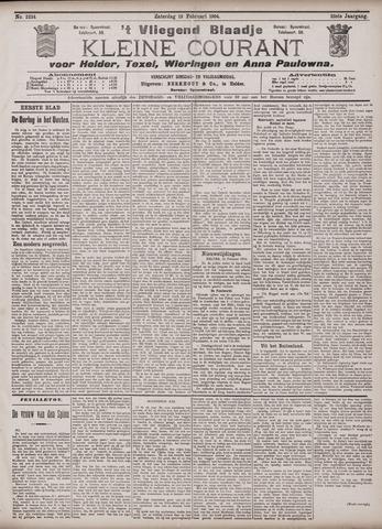 Vliegend blaadje : nieuws- en advertentiebode voor Den Helder 1904-02-13