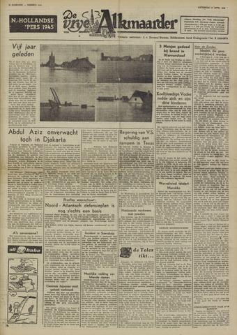 De Vrije Alkmaarder 1950-04-15