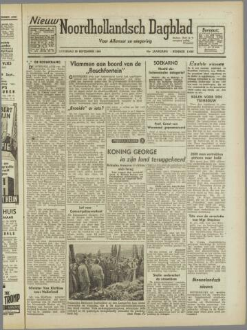 Nieuw Noordhollandsch Dagblad : voor Alkmaar en omgeving 1946-09-28