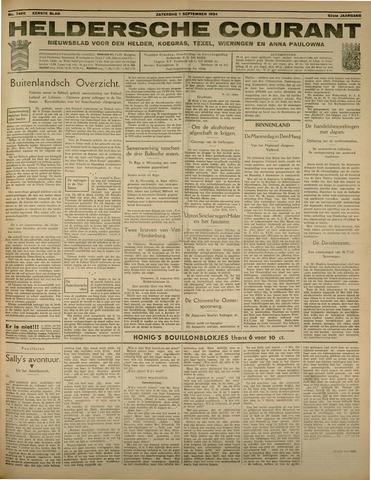 Heldersche Courant 1934-09-01