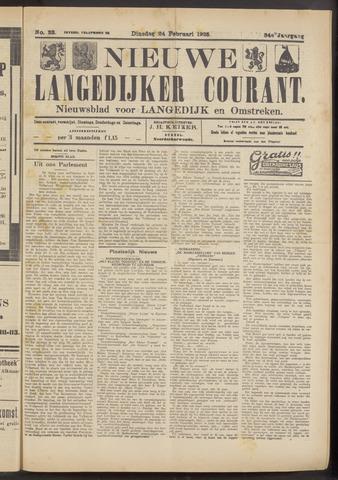 Nieuwe Langedijker Courant 1925-02-24