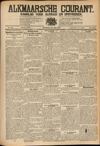 Alkmaarsche Courant 1930-05-20