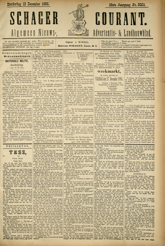 Schager Courant 1895-12-12