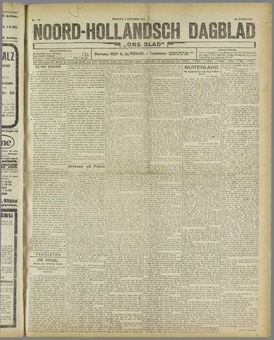 Ons Blad : katholiek nieuwsblad voor N-H 1921-10-04