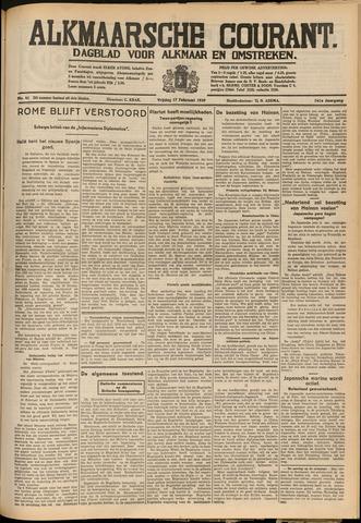 Alkmaarsche Courant 1939-02-17