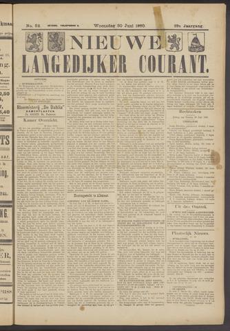 Nieuwe Langedijker Courant 1920-06-30