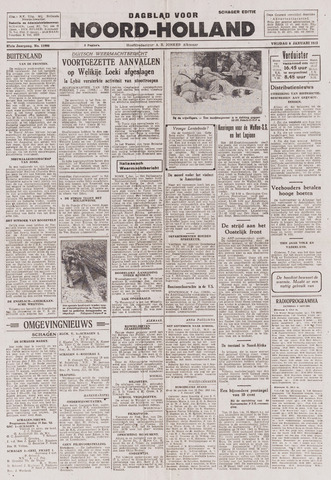 Dagblad Noord-Holland, Schager editie 1943-01-08