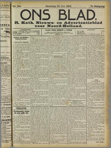 Ons Blad : katholiek nieuwsblad voor N-H 1913-10-25