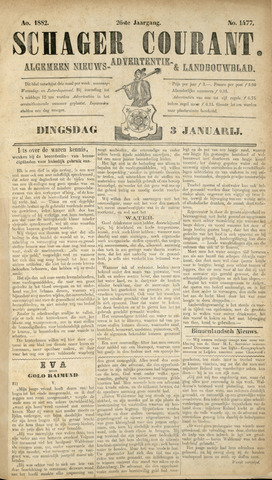 Schager Courant 1882