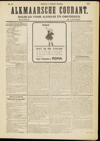 Alkmaarsche Courant 1913-01-20