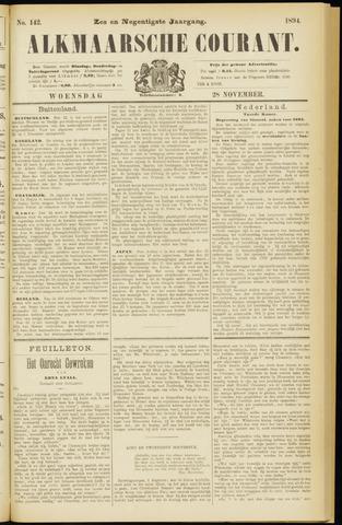 Alkmaarsche Courant 1894-11-28