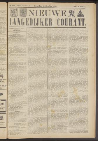 Nieuwe Langedijker Courant 1923-10-13