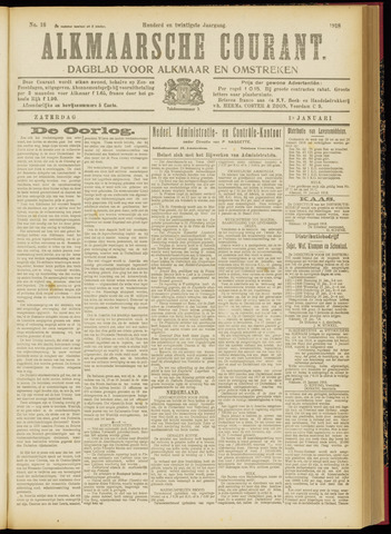Alkmaarsche Courant 1918-01-19