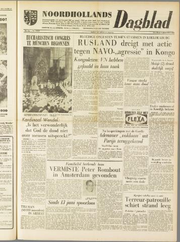 Noordhollands Dagblad : dagblad voor Alkmaar en omgeving 1960-08-01