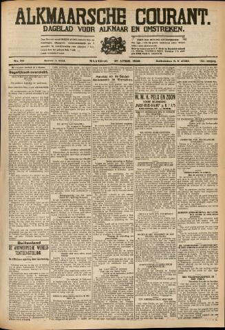 Alkmaarsche Courant 1930-04-28