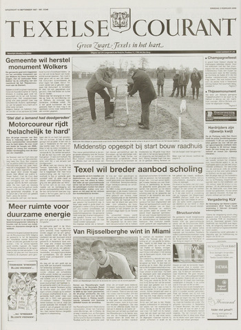 Texelsche Courant 2009-02-03