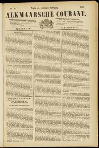 Alkmaarsche Courant 1887-08-03