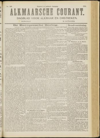 Alkmaarsche Courant 1914-10-13