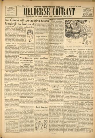 Heldersche Courant 1949-11-15