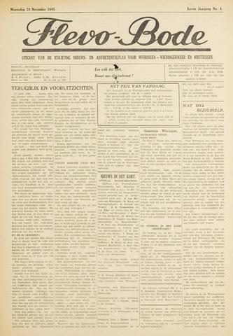 Flevo-bode: nieuwsblad voor Wieringen-Wieringermeer 1945-11-28