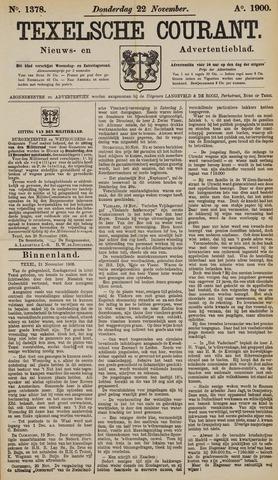 Texelsche Courant 1900-11-22