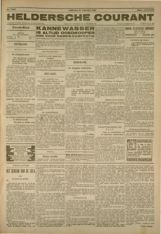 Heldersche Courant 1930-01-21