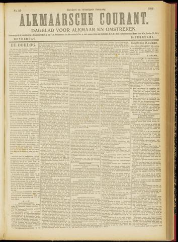 Alkmaarsche Courant 1918-02-28