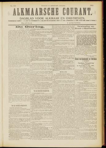 Alkmaarsche Courant 1915-08-02