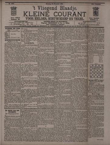 Vliegend blaadje : nieuws- en advertentiebode voor Den Helder 1894-11-24