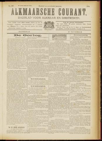 Alkmaarsche Courant 1915-11-27