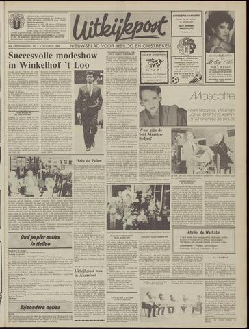 Uitkijkpost : nieuwsblad voor Heiloo e.o. 1985-10-09