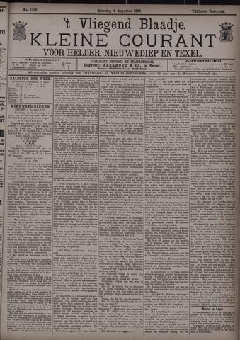 Vliegend blaadje : nieuws- en advertentiebode voor Den Helder 1887-08-06