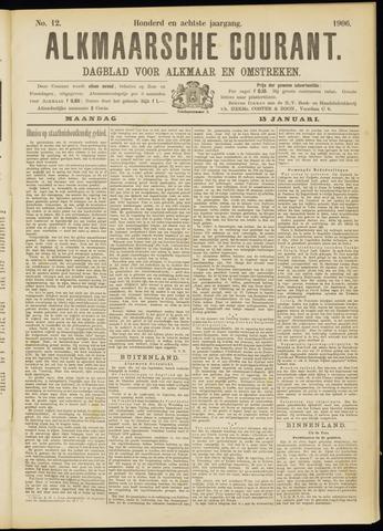 Alkmaarsche Courant 1906-01-15