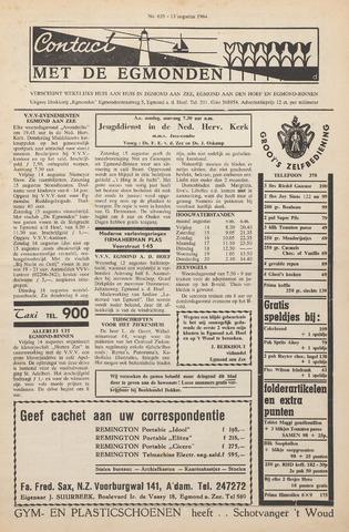 Contact met de Egmonden 1964-08-13