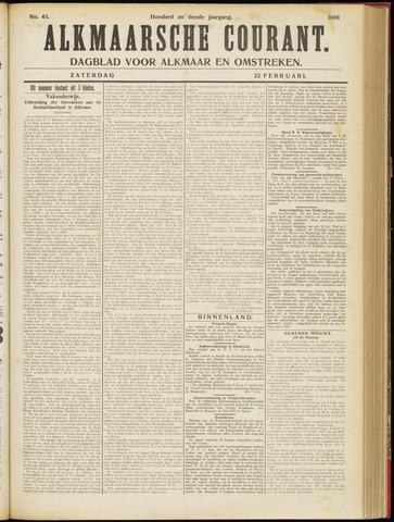 Alkmaarsche Courant 1908-02-22