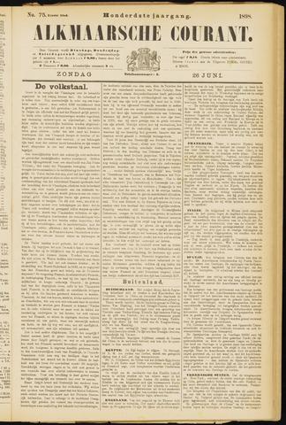 Alkmaarsche Courant 1898-06-26