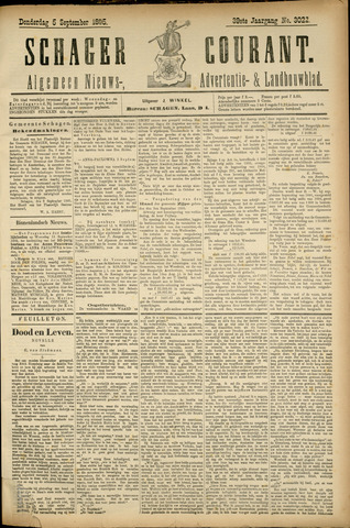 Schager Courant 1895-09-05