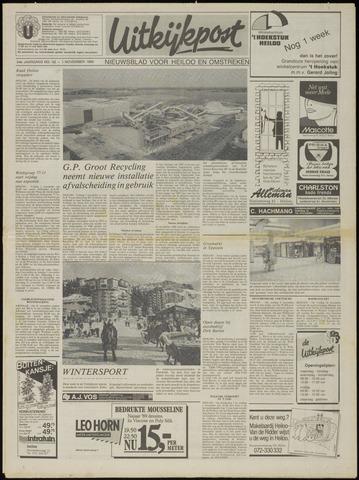 Uitkijkpost : nieuwsblad voor Heiloo e.o. 1989-11-01