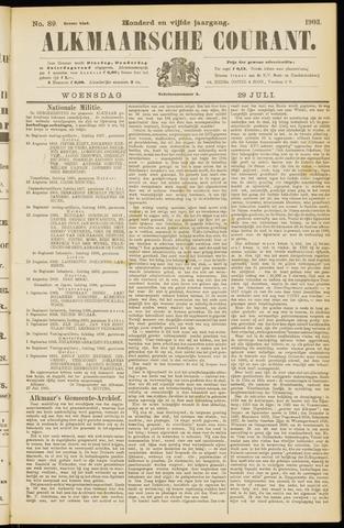 Alkmaarsche Courant 1903-07-29