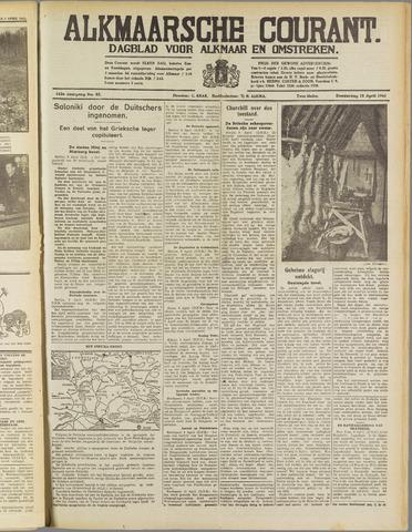 Alkmaarsche Courant 1941-04-10