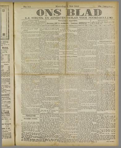 Ons Blad : katholiek nieuwsblad voor N-H 1919-05-05